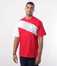 SmokeStory-SSG Cross Belt T-Shirt Czerwony