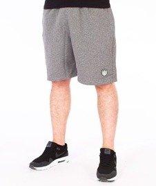 SmokeStory-Skin Krótkie Spodnie Dresowe Ciemne Szare