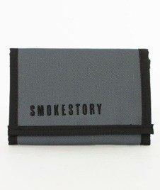 SmokeStory-SmokeStory Portfel Szary