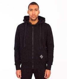 Stoprocent-BMS Hoodtag16 Bluza Zip Black
