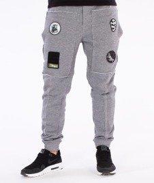 Stoprocent-Jogger Raw Spodnie Dresowe Szare