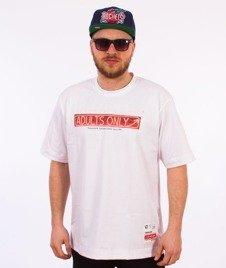 Stoprocent-Neon T-Shirt Biały