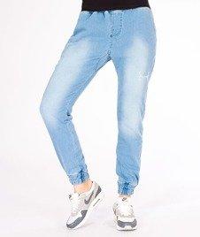 Stoprocent-SDJH Highjogger Jeans Spodnie Damskie Blue