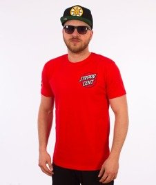 Stoprocent-Santa T-Shirt Czerwony