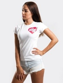 Stoprocent-TDS Fakju T-Shirt Damski White