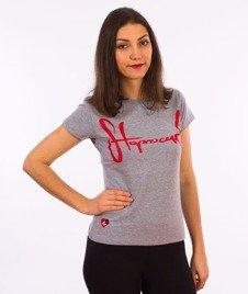 Stoprocent-TDS Tag17 T-Shirt Damski Melange