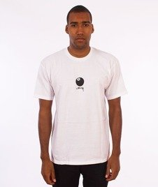 Stussy-8 Ball Stock T-Shirt White