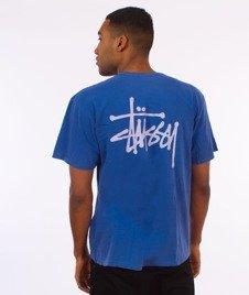 Stussy-Basic Stussy Pig. Dyed T-Shirt Indigo