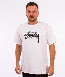 Stussy-Stock T-Shirt Biały