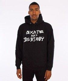 Thrasher-Skate And Destroy Hood Black