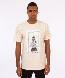 Visual-Carpe Diem T-Shirt Cream